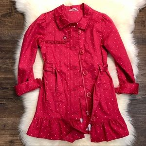 Girls Coat Medium (7/8)